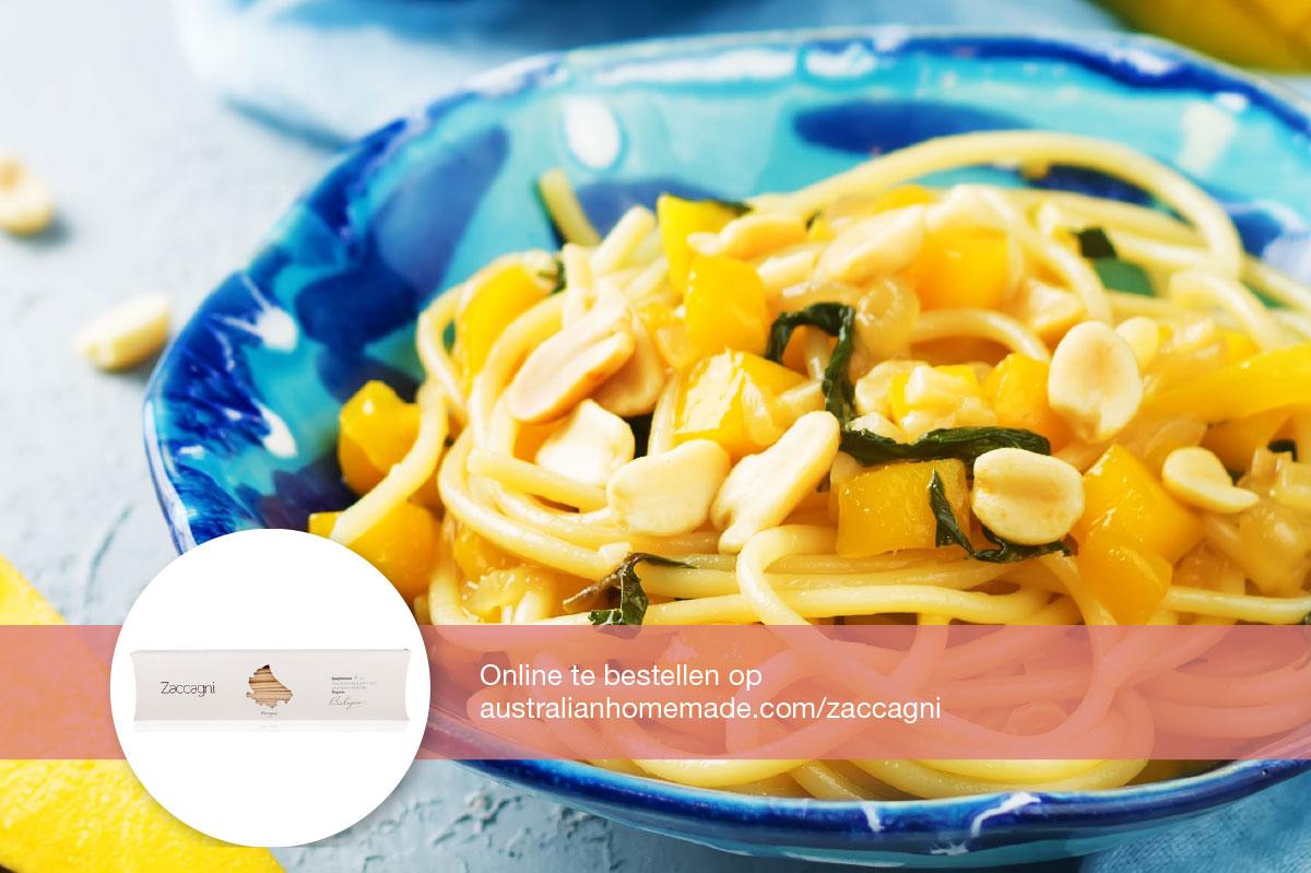 Recept Spaghetti met paksoi en mango DGA