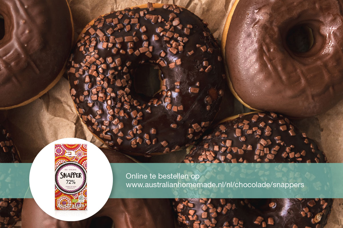 Recept homemade donuts met chocolade DGA
